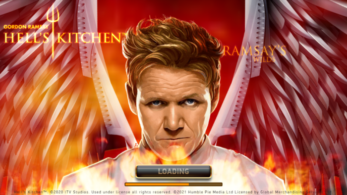 Slot online Hell's Kitchent by Netent, con simboli Ramsay's Wilds