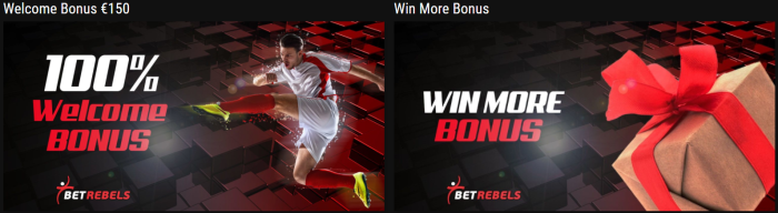 Betrebels bonus scommesse sportive
